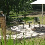 Natural Stone, Curved Patio