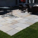 Extended existing patio in Easton