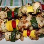 Licorice Chicken Kabobs