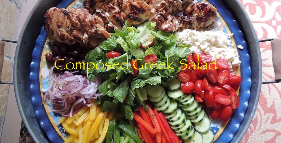 Composed Greek Salad
