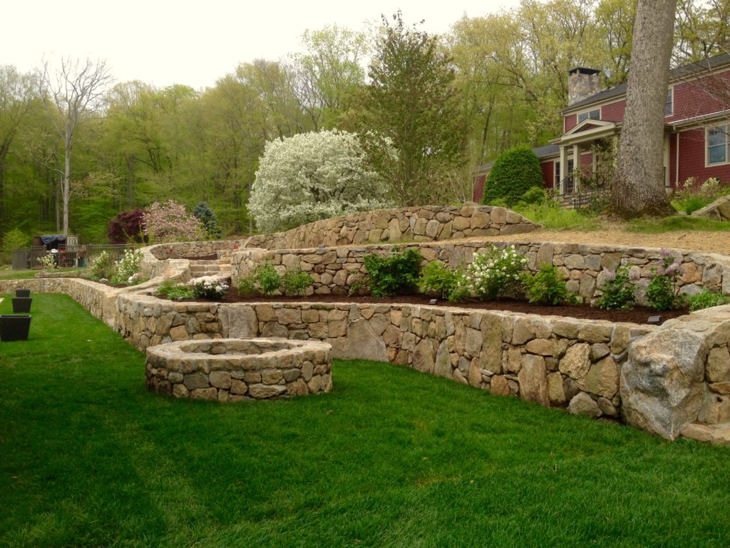 lobenfeld garden and stonewall